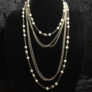 "Jewelry - Long 52"" Multi Strand Necklace JJ248"